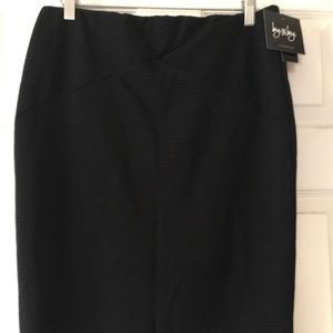 NWT by&by brand new with tags black skirt